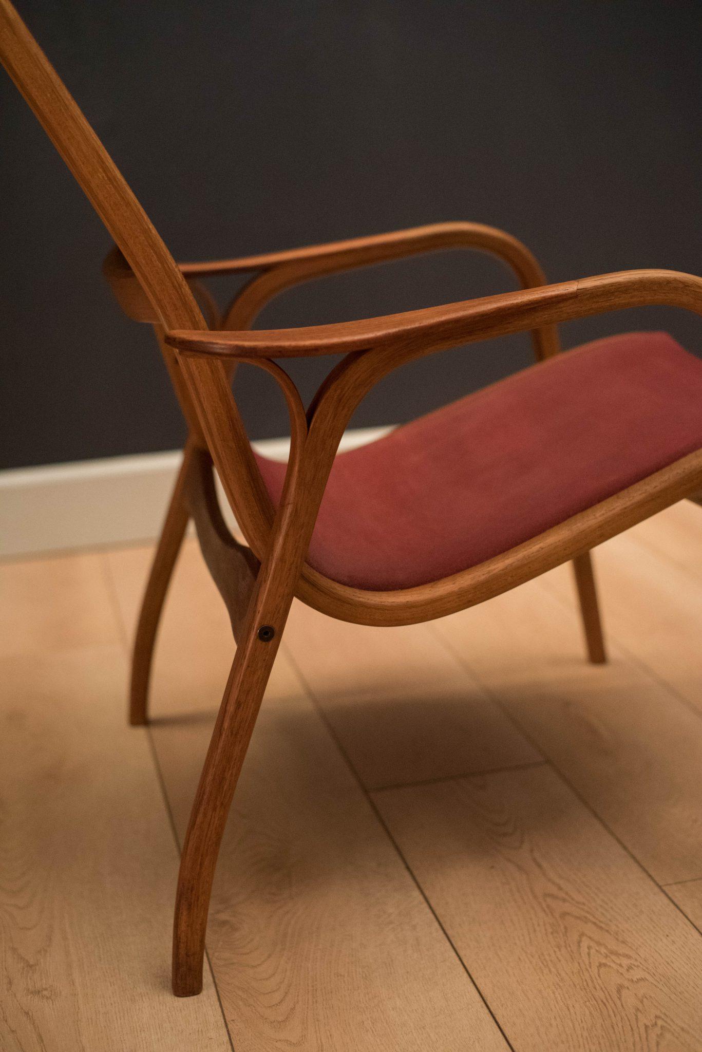 Vintage Yngve Ekstr 246 M Lamino Lounge Chair Mid Century