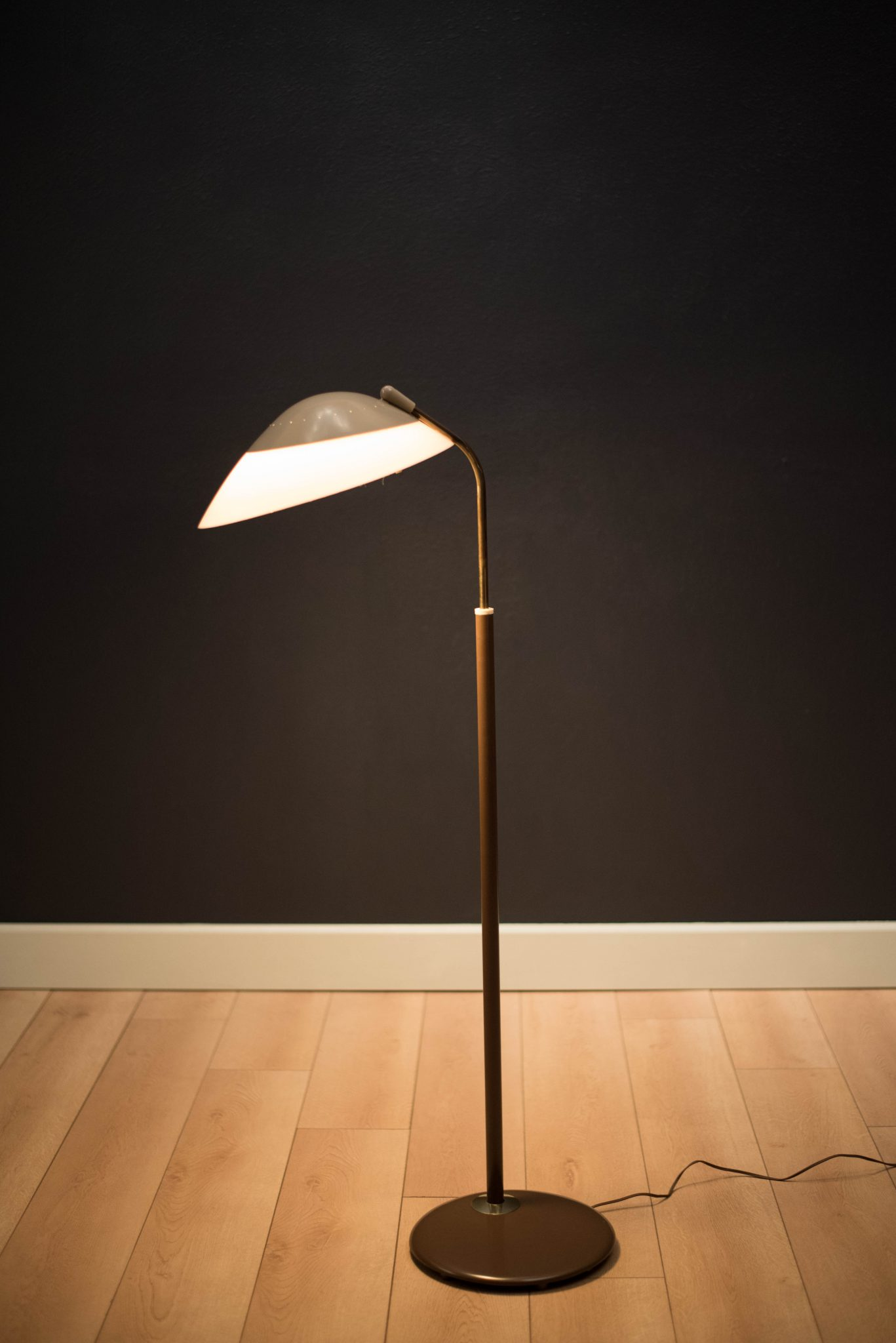 ... Lightolier Floor Lamp By Gerald Thurston. Sale!