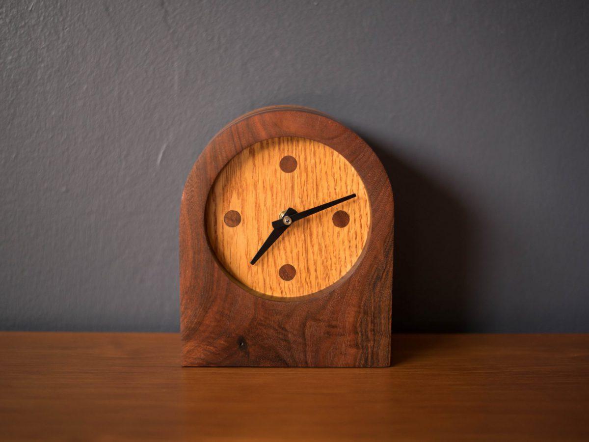 Mid Century Modern Desk Clock - Mid Century Maddist