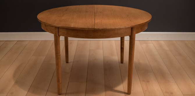Danish Hans Wegner Dining Table for Andreas Tuck